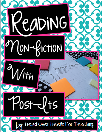 http://www.teacherspayteachers.com/Product/Reading-Non-Fiction-With-Post-Its-1091864