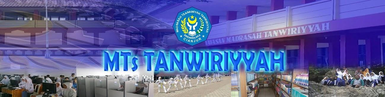 MTs. TANWIRIYYAH
