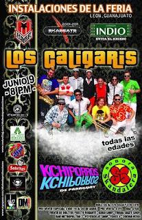 Los Caligaris en Guanajuato 2011