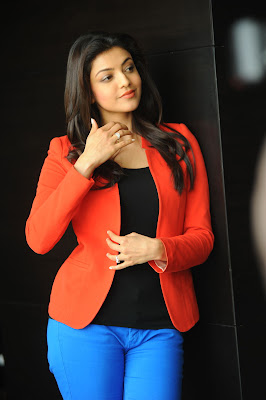 glamorous confident Kajal agarwal latest photos at baadshah interview