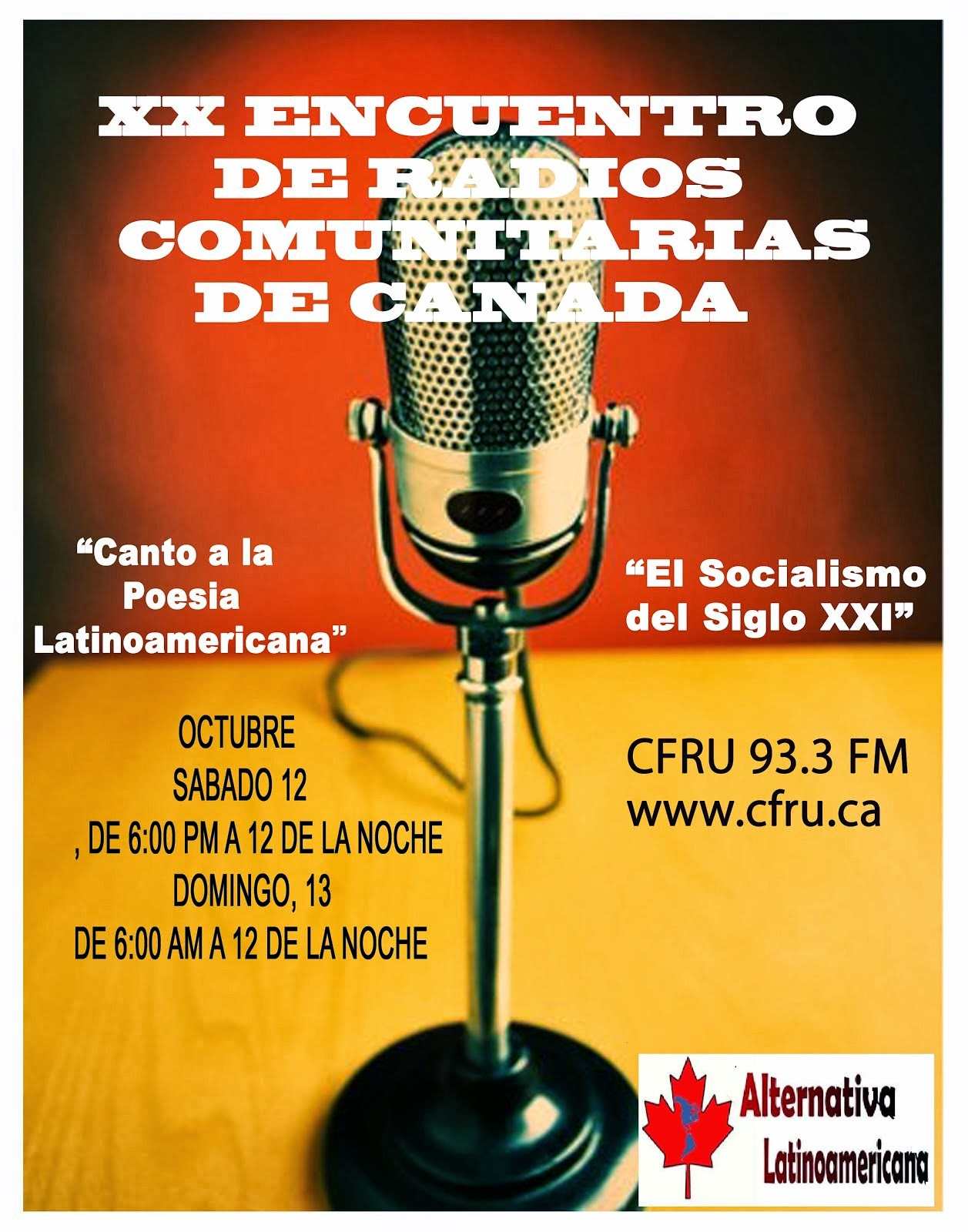 XX Encuentro Radiofonico de Canada
