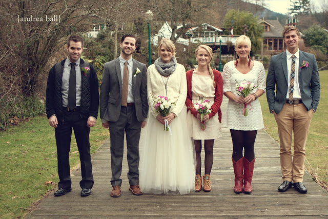I Came Across This Really Cute Cosy Wedding The Other Day A Dress And Cardigan Scarf Not Usual List Of Clothing But Certainly One