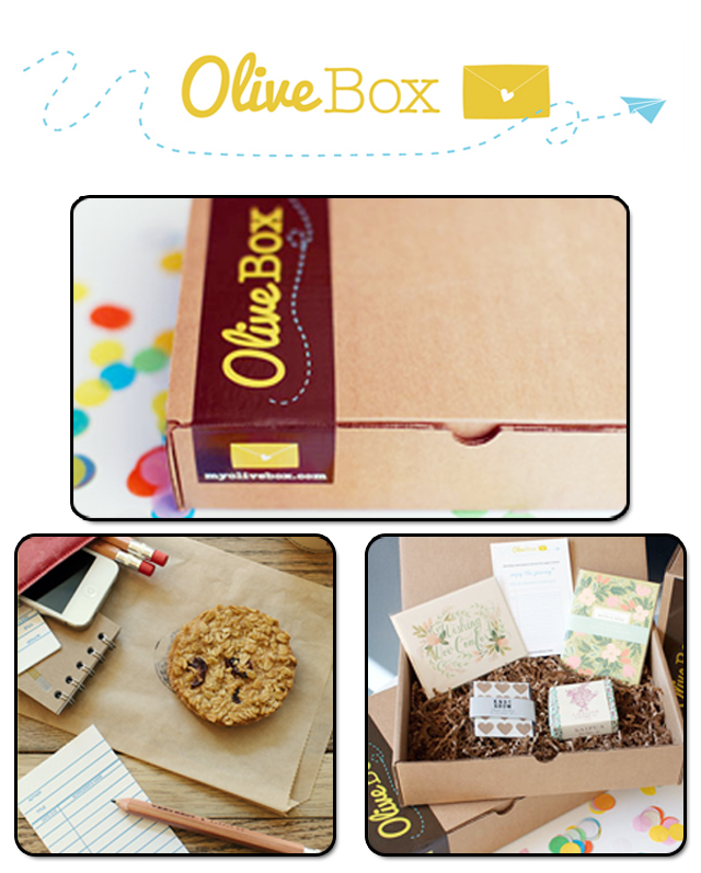 Olive Box Subscription Service Paper Monthly Box Delivery