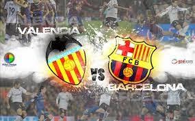 بث مباشر مباراة برشلونه مع فالنسيا الدوري الاسباني 18/4/2015 barcelona vs valencia