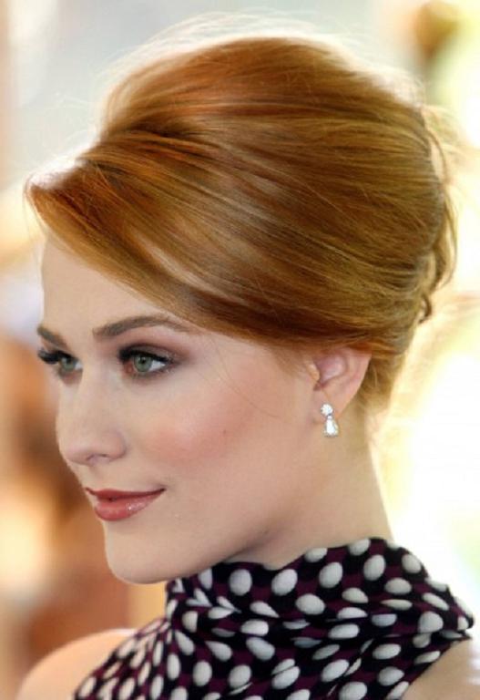 20 clasico peinados recogidos - peinados cortes de pelo