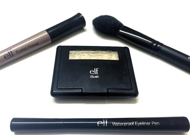 I heart makeup tag elf cosmetics brushes eyeshadow eye primer