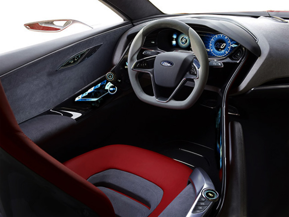 Ford, plug-in hybrid, Ford Reveals High-Tech Concept, 2011 Frankfurt Auto Show