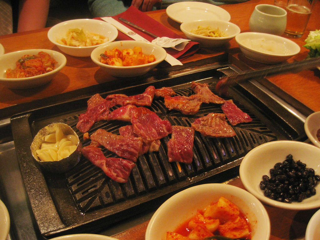 Korean table grill