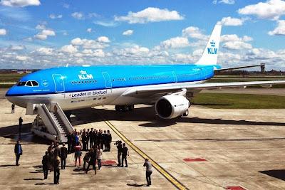KLM Royal Dutch Airlines. ZonaAero
