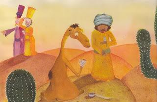 Los tres Reyes Magos - María G. Marín, ilustradora