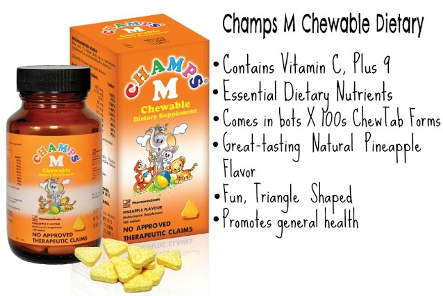 CHAMPS, Multivitamins, CHEWABLE, DIETARY, children