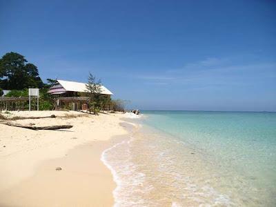 Pesona Wisata Bahari Pulau Samalona