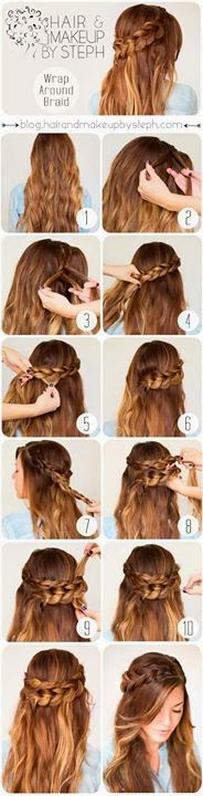 Hair Makeup Step by Step By STEPH