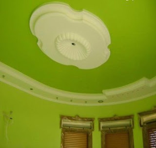 Homez deco kreative homez colorfull roof gypsum for Decoration za nyumba