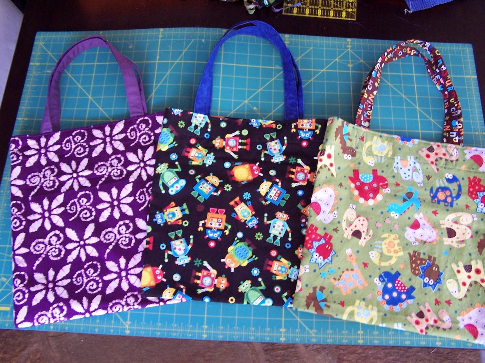 Simple Living Basics: Quick Tote Bag