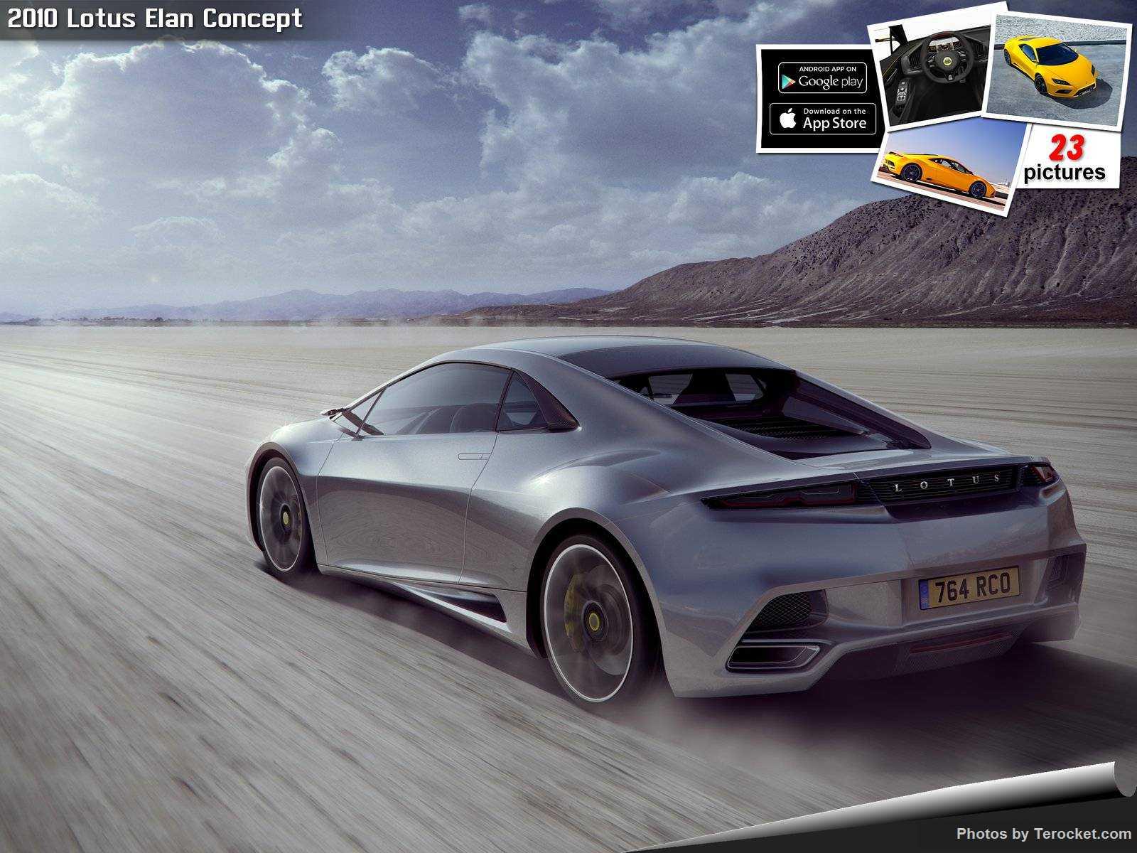 Hình ảnh siêu xe Lotus Elan Concept 2010 & nội ngoại thất