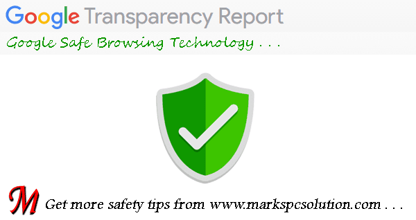Google Safe Browsing Report