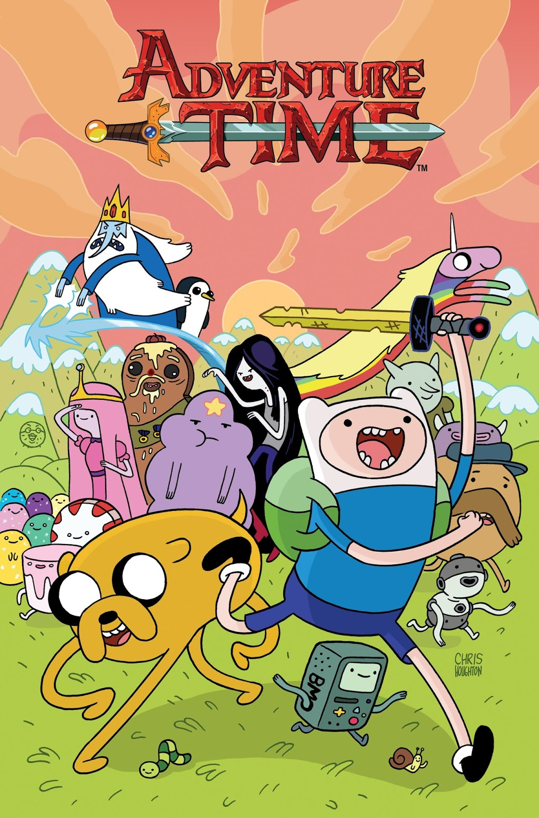 Hora de Aventura (Adventure Time) Temporada 08 Audio Latino