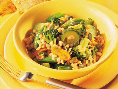 Broccoli and Pearl Barley Salad Recipe
