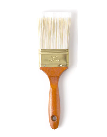 The yellow cape cod how to get the pb distressed white finish for Wall painting utensils