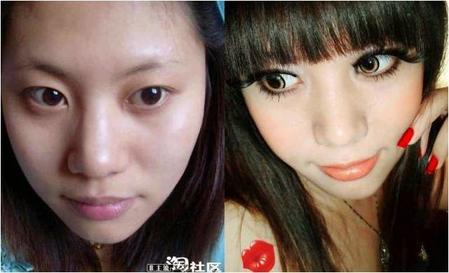 Transformation with Circle Lenses & Stella False Eyelashes