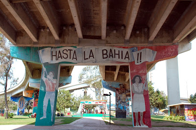 Hasta La Bahia Coronado bridge Support Chicano Park San Diego CA