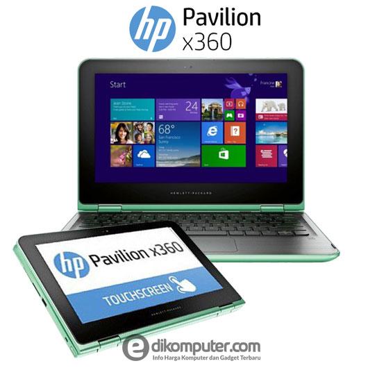 Harga Laptop HP Pavilion x360 11-K028TU