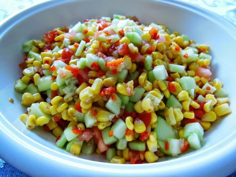 Chumkie's Kitchen : Kid-Friendly Corn Salsa