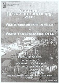 Museo de Candelario en fiestas