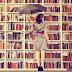 Estantes de livros diferentes
