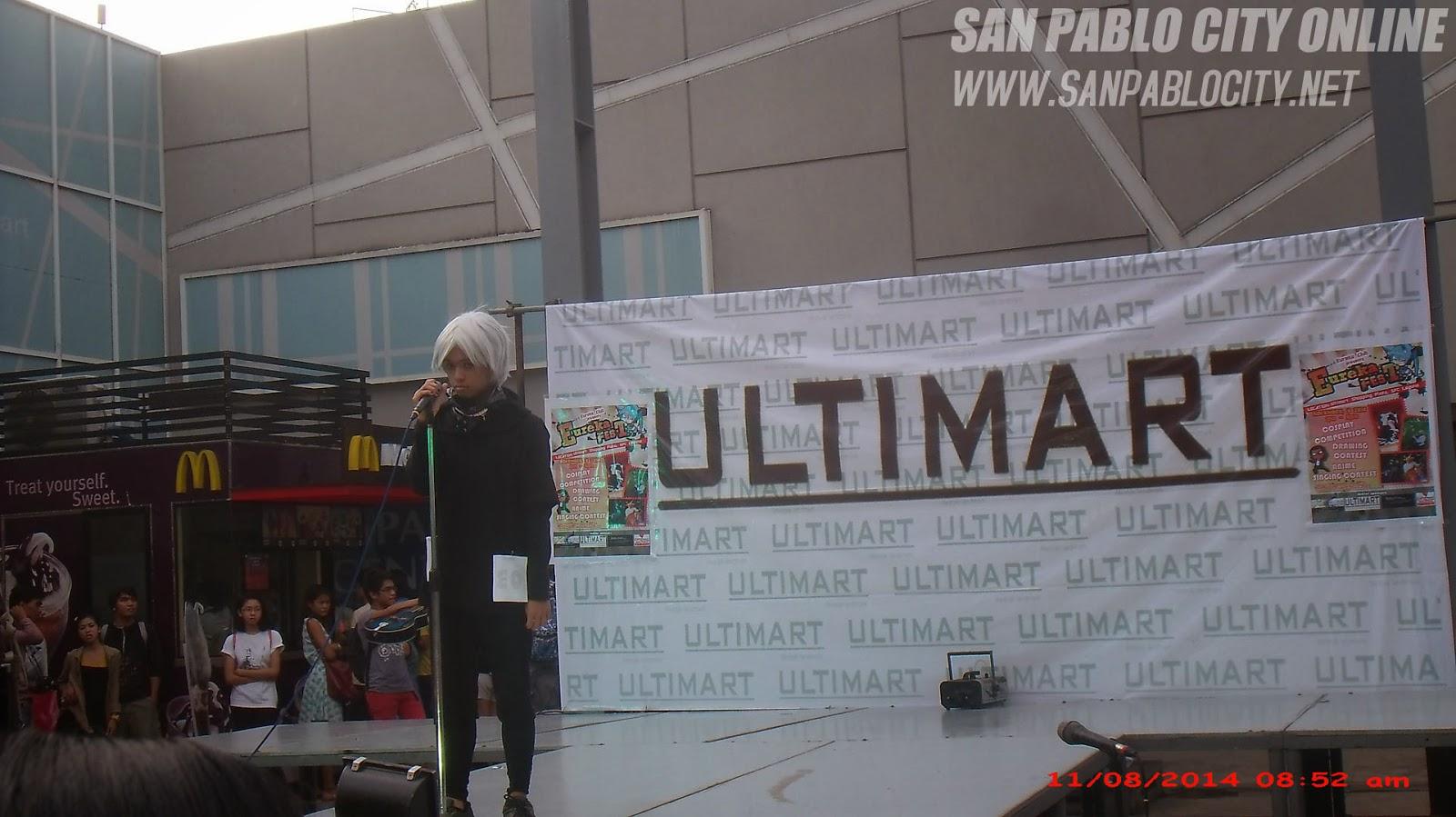 Eureka Fest 2014, Anime Singing Contest, Ultimart Shopping Plaza, San Pablo City