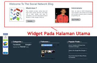 Menampilkan / Menyembunyikan Sidebar Blog   Khamardos Blog