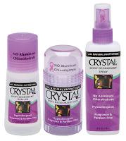 Desodorante Crystal
