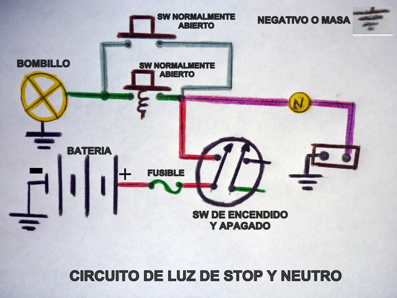 Circuito Eletricos : Mantenimiento de motos circuitos electricos