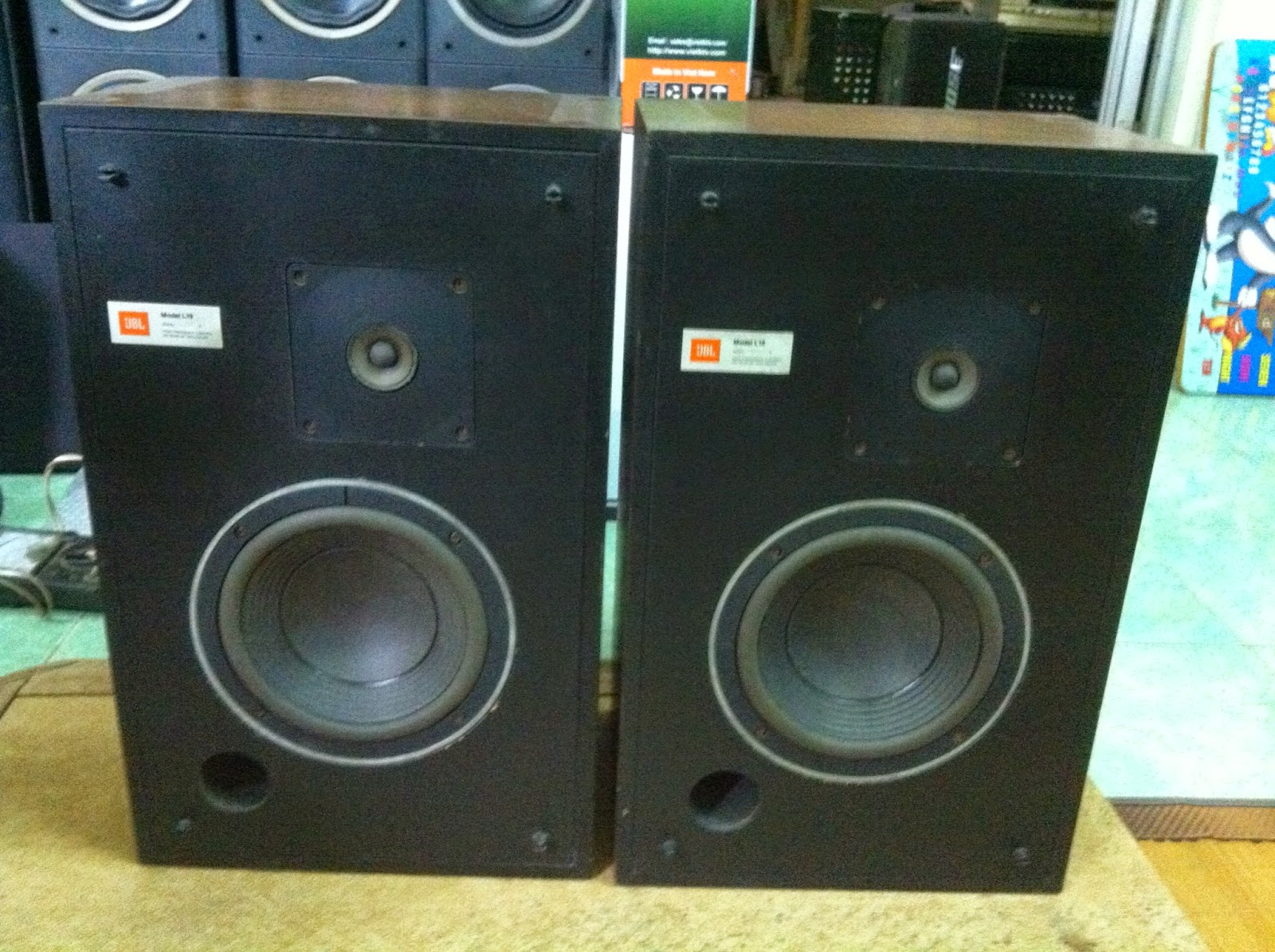 Loa JBL L19 - Made in USA
