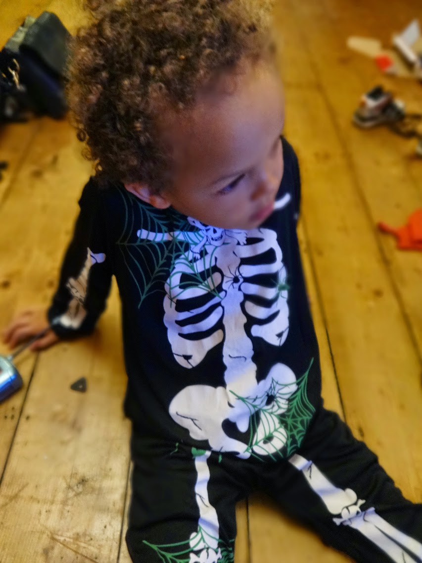 Skeleton Halloween Costume from Aldi UK Special Buy