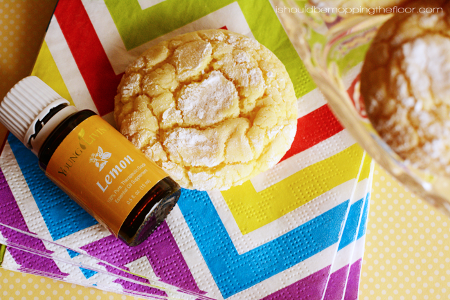 Double Lemon Cake Mix Cookies | Come together in a flash!
