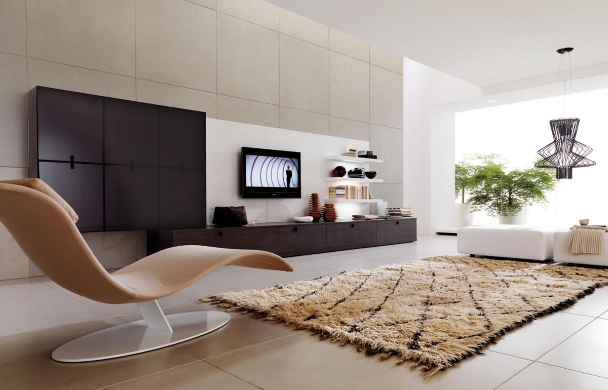Centros de entretenimiento y muebles para la tv Decora