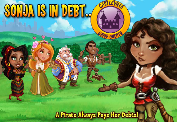 Castleville Sonja Pirate's Debt Quests