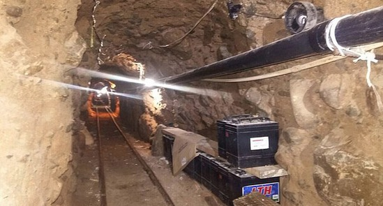 Inilah Terowong Penyeludupan Dadah di Mexico Merentasi Amerika Syarikat
