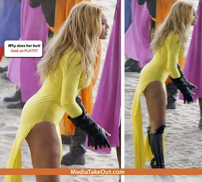 Incredible. Beyonce wearing butt pads pussy amazing!