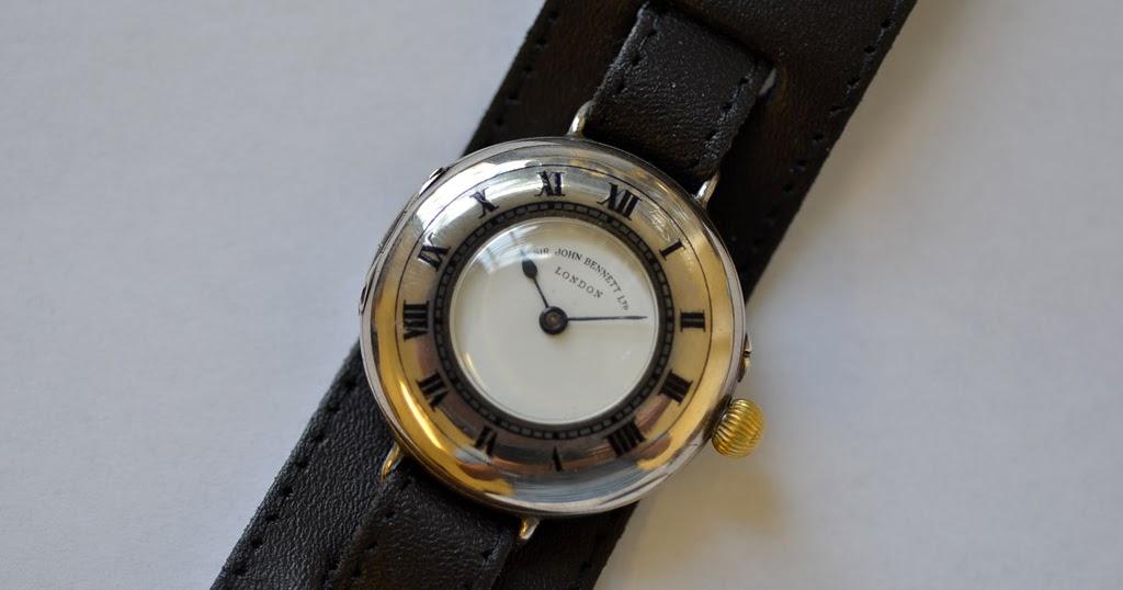 Mr Jones Watches Vintage blog: 1910 Half Hunter wrist watch