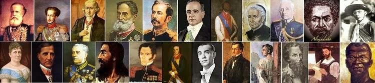 Grandes nomes da História do Brasil