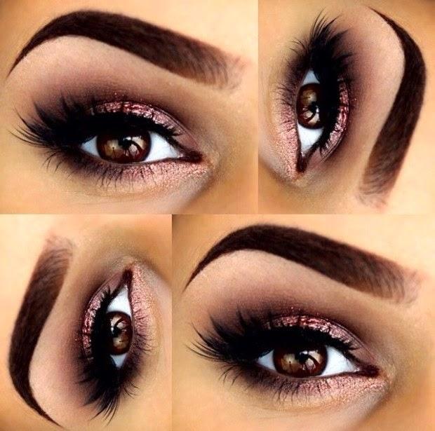 spesso Trucchi Del Make Up: Trucco occhi marroni QL56