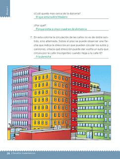 Respuestas Apoyo Primaria Desafíos matemáticos 5to grado Bloque I lección 10 La colonia de Isabel