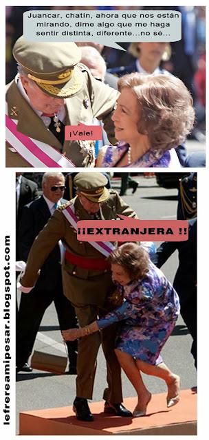 """""""Familia Real"""", """"xenofobia"""", """"reyes"""", """"Juan Carlos"""", """"Sofía"""", """"amor"""""""