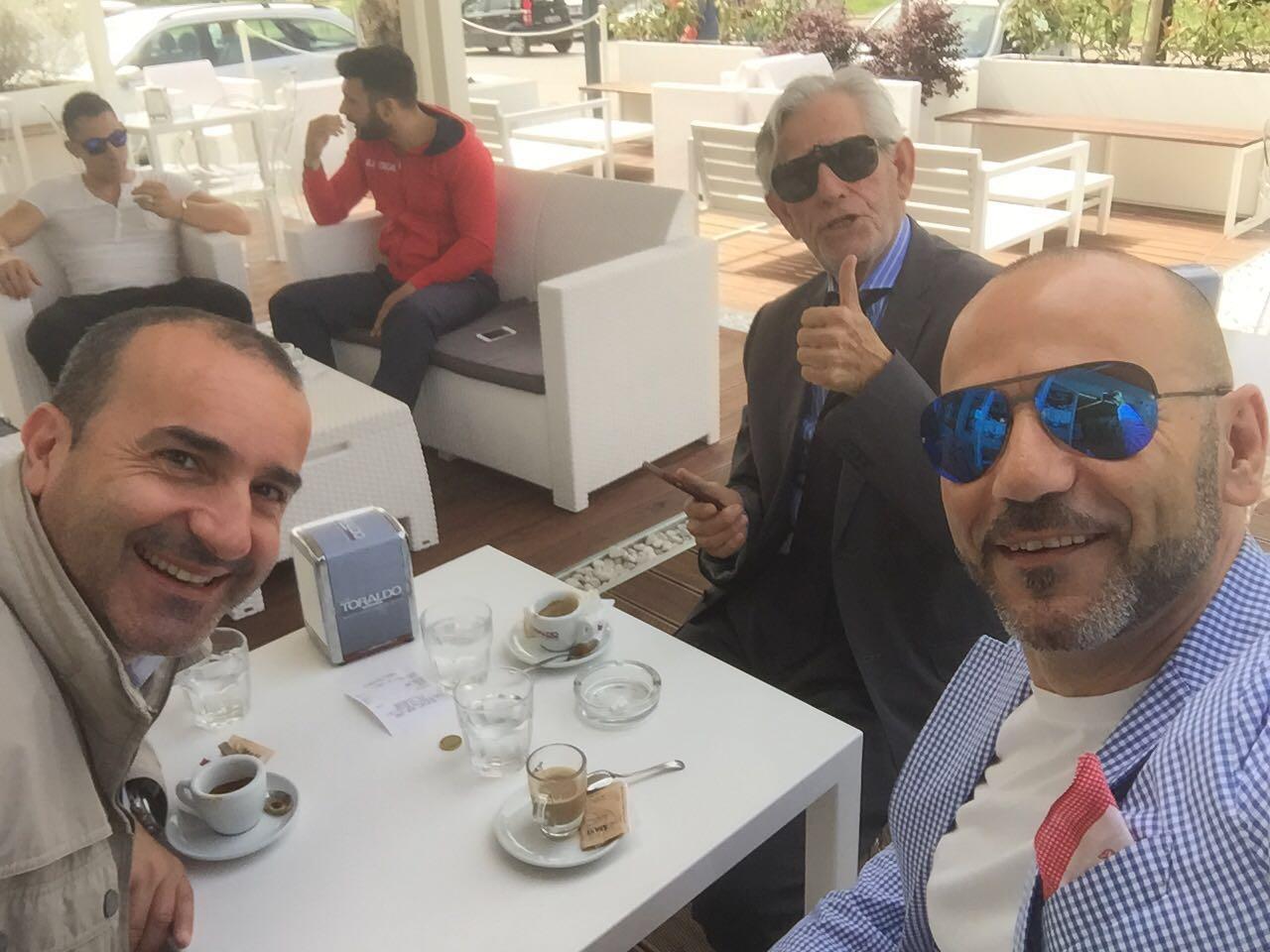 CON PIETRO PASTORE E GIOVANNI MARTONE IN QUEL DI VITULAZIO - 2016 MAGGIO
