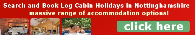 Search for Log Cabin Holidays in Nottinghamshire