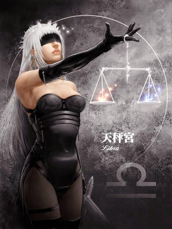 La mujer y el poder de la justicia, signo Libra