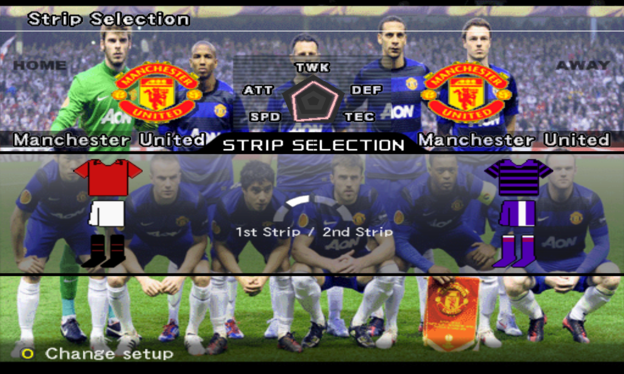 Theme Manchester United For Winning Eleven 9 (13 Mb)